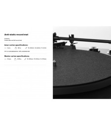 LP VINYL ANTISTATIC DISC
