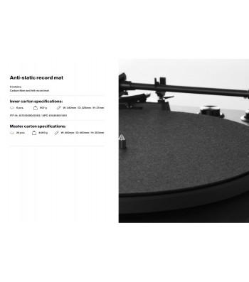 DISCO ANTIESTATICO LP VINILO RECORD DISCO CARBON