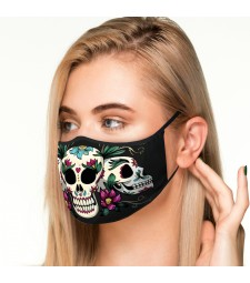 MASQUE DE PROTECTION MOD.CALAVERA MEXICANA