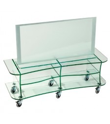 Glass TV table Ref. 59298E