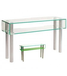 Console tempered glass shelf  Ref. 59359