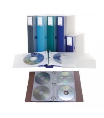 Album 48 CD-DVD Rangement pour CD et DVD