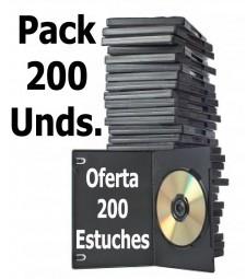 Oferta 200 Estuches DVD - CD