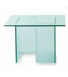 Verre table carrée Ref 59030