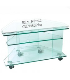 Crystal table TV + DVD Ref. 59660