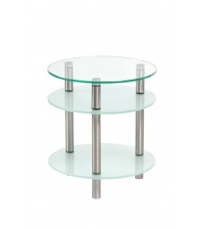 Table ronde en verre Ref 59024