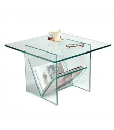 Magazine Table in Glass Ref. 59566