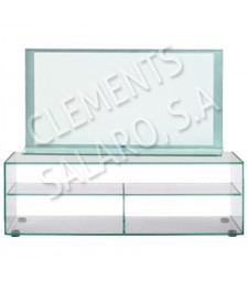 Glass TV table Ref. 59297