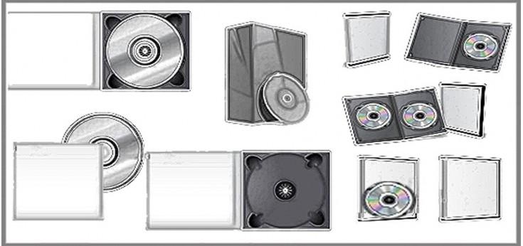 ESTUCHES, CAJAS CD-DVD Y TARJETEROS